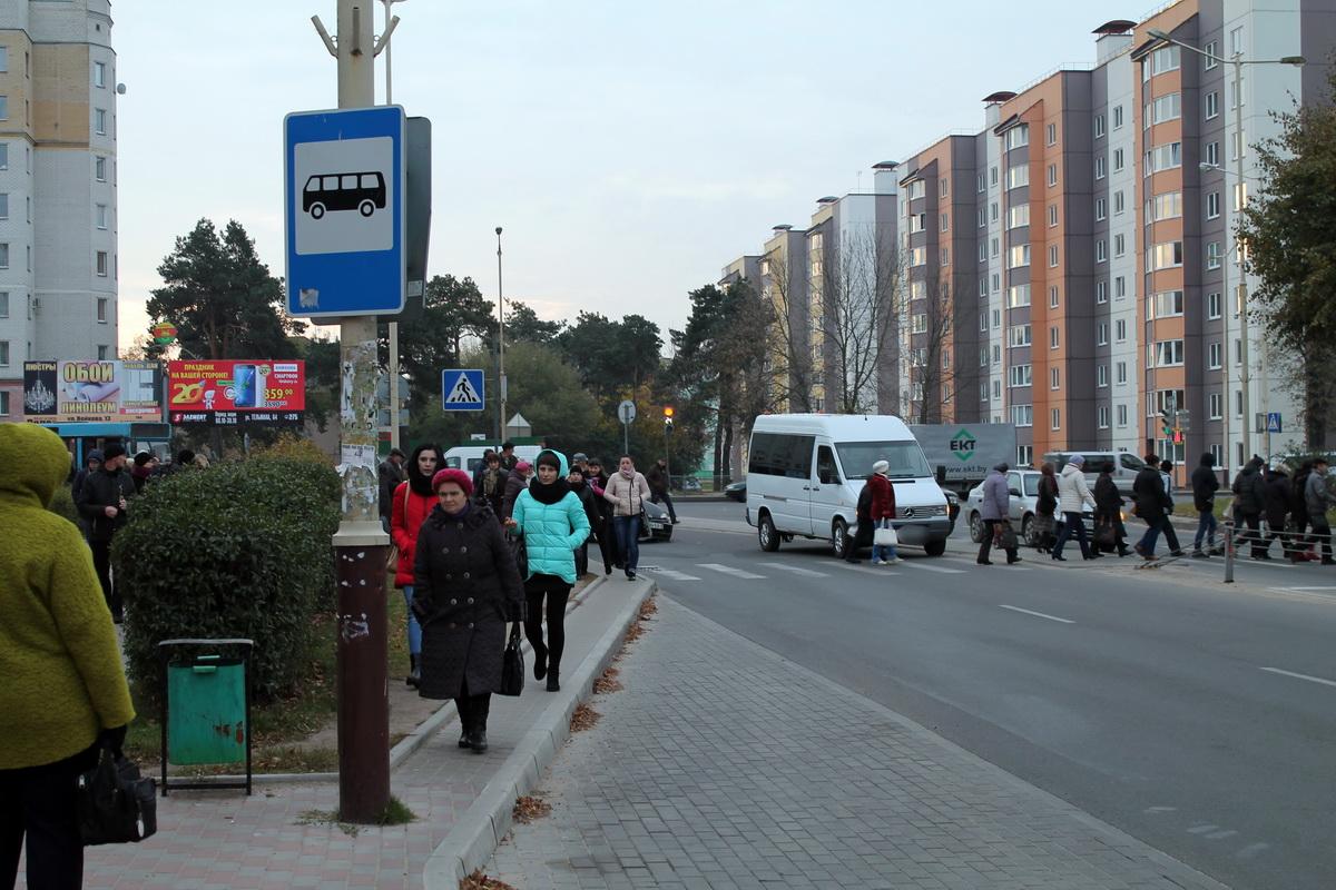 ДТП на улице Баранова. Фото: Татьяна МАЛЕЖ