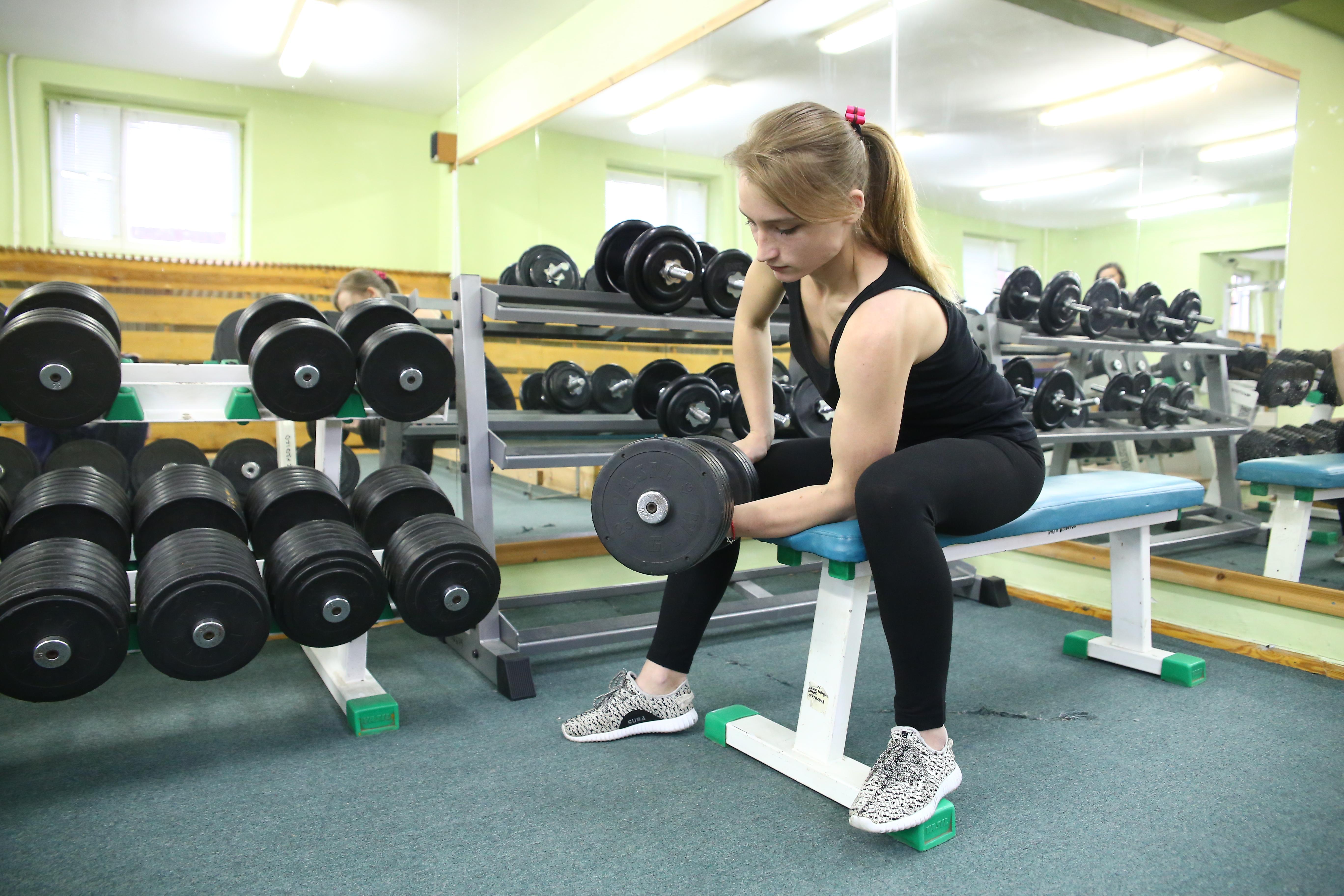 Призер чемпионата мира по армрестлингу Дарья Яцкевич тренируется по 2-3 часа 6-7 дней в неделю. Фото: Евгений ТИХАНОВИЧ