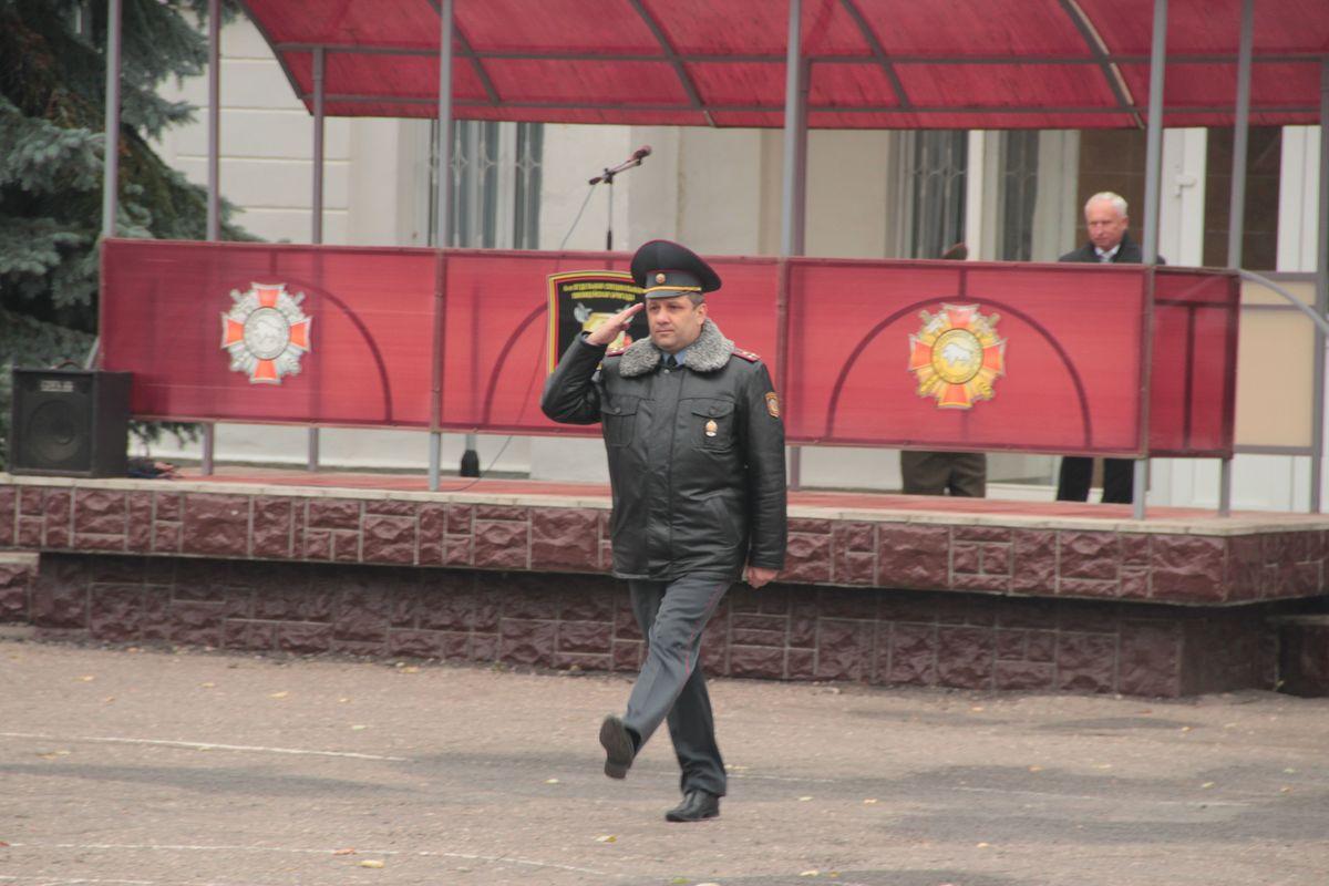 Полковник Владимир Гавдур возглавил войсковую часть 7404. Фото: Юрий ПИВОВАРЧИК