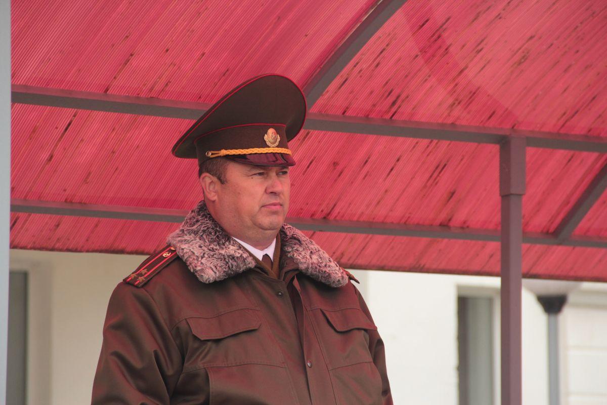 Полковник Сергей Кравченя. Фото: Юрий ПИВОВАРЧИК