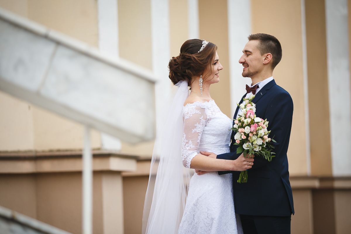 Свадебная пара недели: Дмитрий и Ирина. Фото: Александр КОРОБ