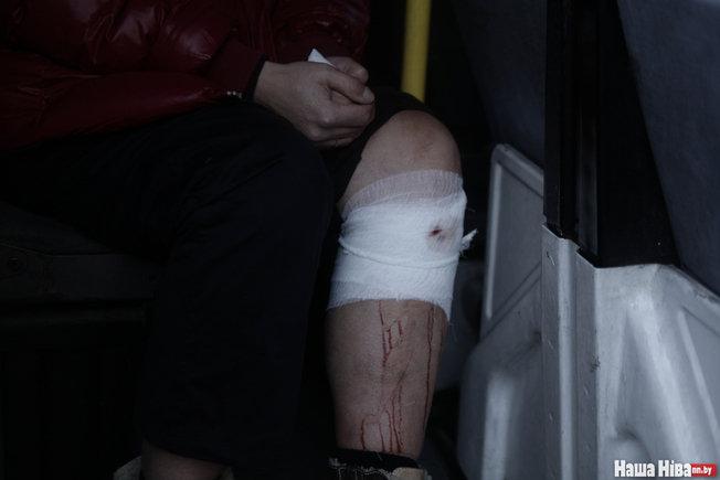 В результате столкновения двух маршруток в Минске пострадали 11 человек