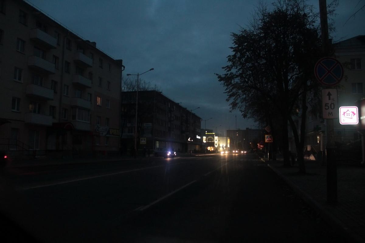 27 октября 7.44 утра улица Ленина
