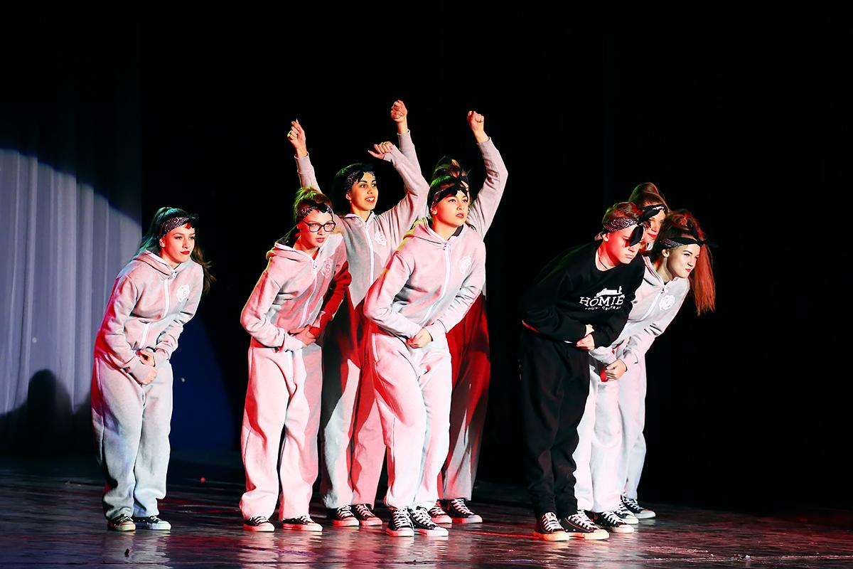 Участники Ananko Dance School. Фото: Евгений ТИХАНОВИЧ