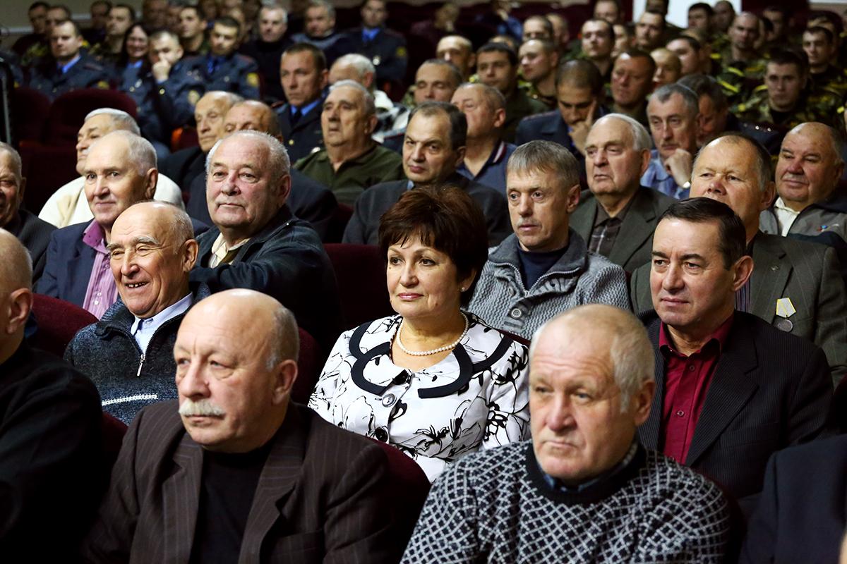 Ветераны войсковой части 7407. Фото: Евгений ТИХАНОВИЧ