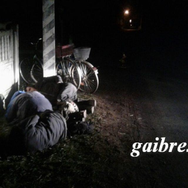 Сон у дороги. Фото:ГАИ Брестской области