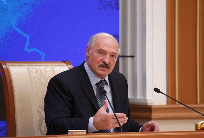 Президент Беларуси Александр Лукашенко на пресс-конференции с представителями российских СМИ, 17 ноября 2016 года. Фото: PRESIDENT.GOV.BY