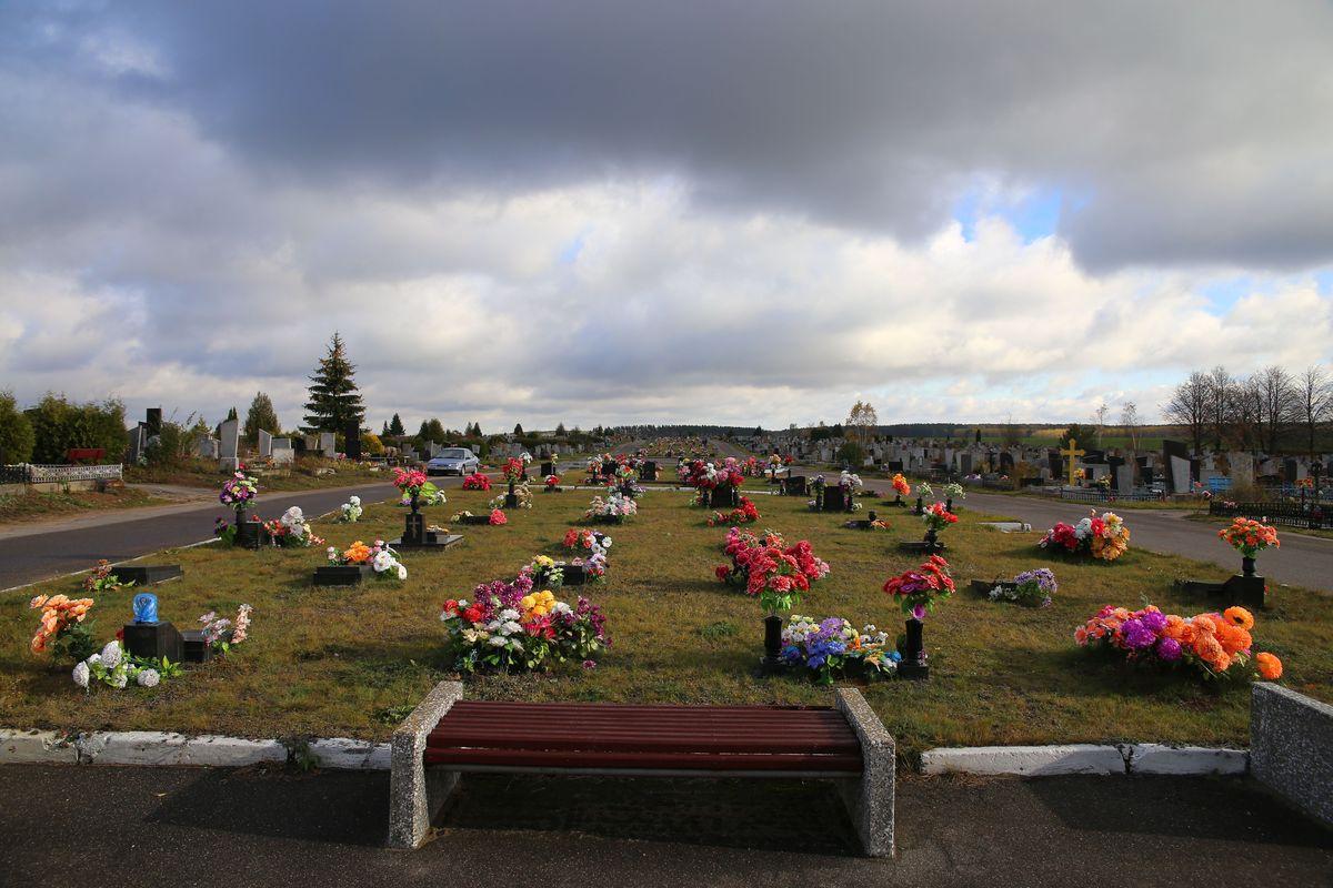 Кладбище Русино. Фото: Евгений ТИХАНОВИЧ