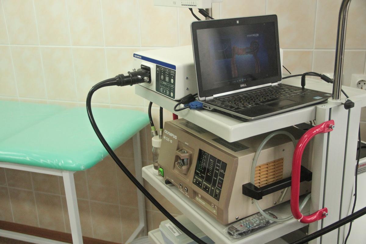 Новое эндоскопическое оборудование в городской поликлинике №2 позволяет записывать исследование желудочно-кишечного тракта на видео.