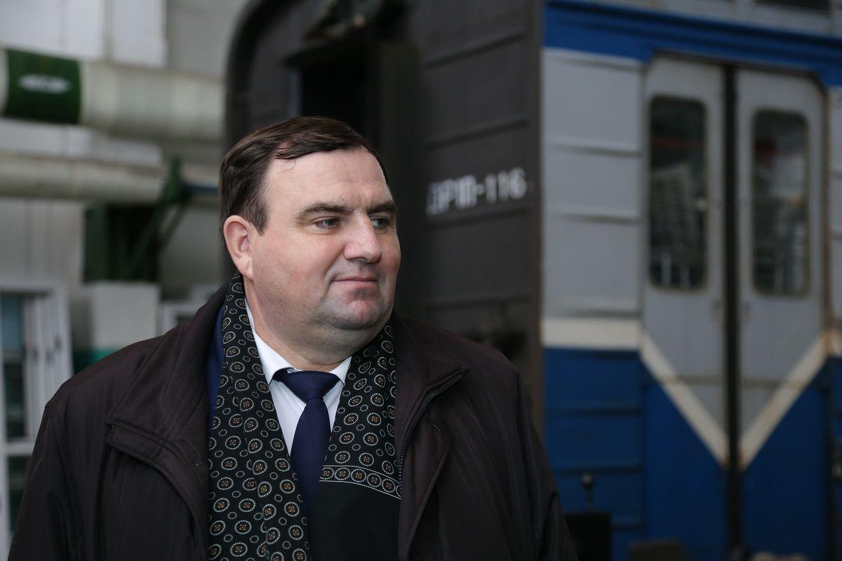 Начальник депо Сергей Ольшевский. Фото: Александр КОРОБ
