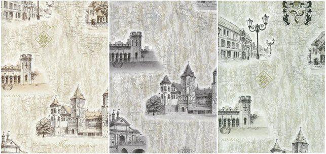 В Минске выпустили обои с изображением архитектурных достопримечательностей Беларуси