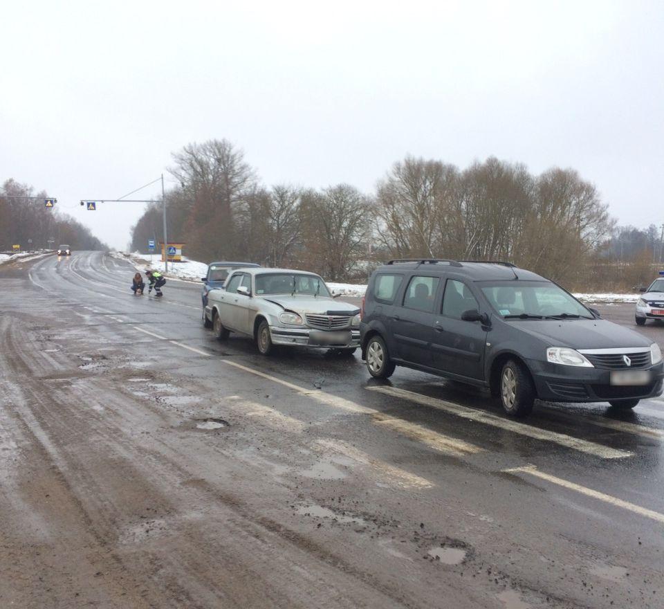 Авария произошла в Ляховичском районе. Фото: ОГАИ Ляховичского РОВД