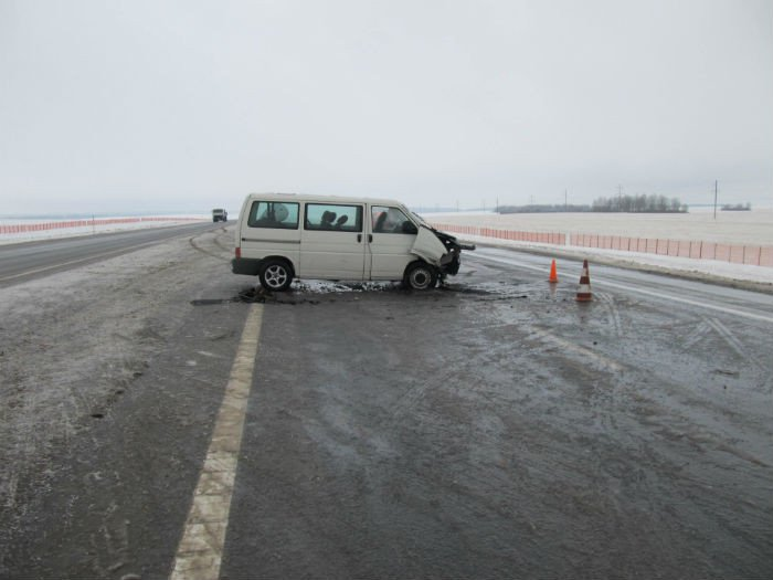 Место ДТП. Фото ГАИ Минской области