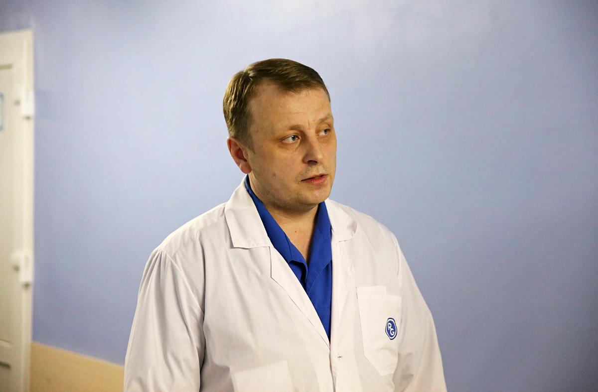 Заведующий травмпунктом Барановичской городской больницы Игорь Морозов. Фото: Евгений ТИХАНОВИЧ