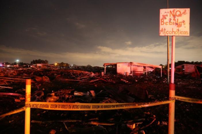 Смертоносный взрыв фейерверков вМексике: появились новые видео иданные ожертвах