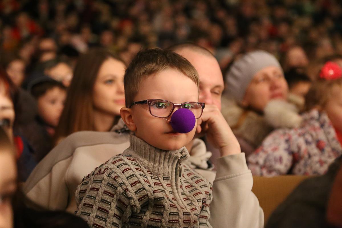 "Представление цирка ""PROFFITTO"". Фото: Александр КОРОБ"