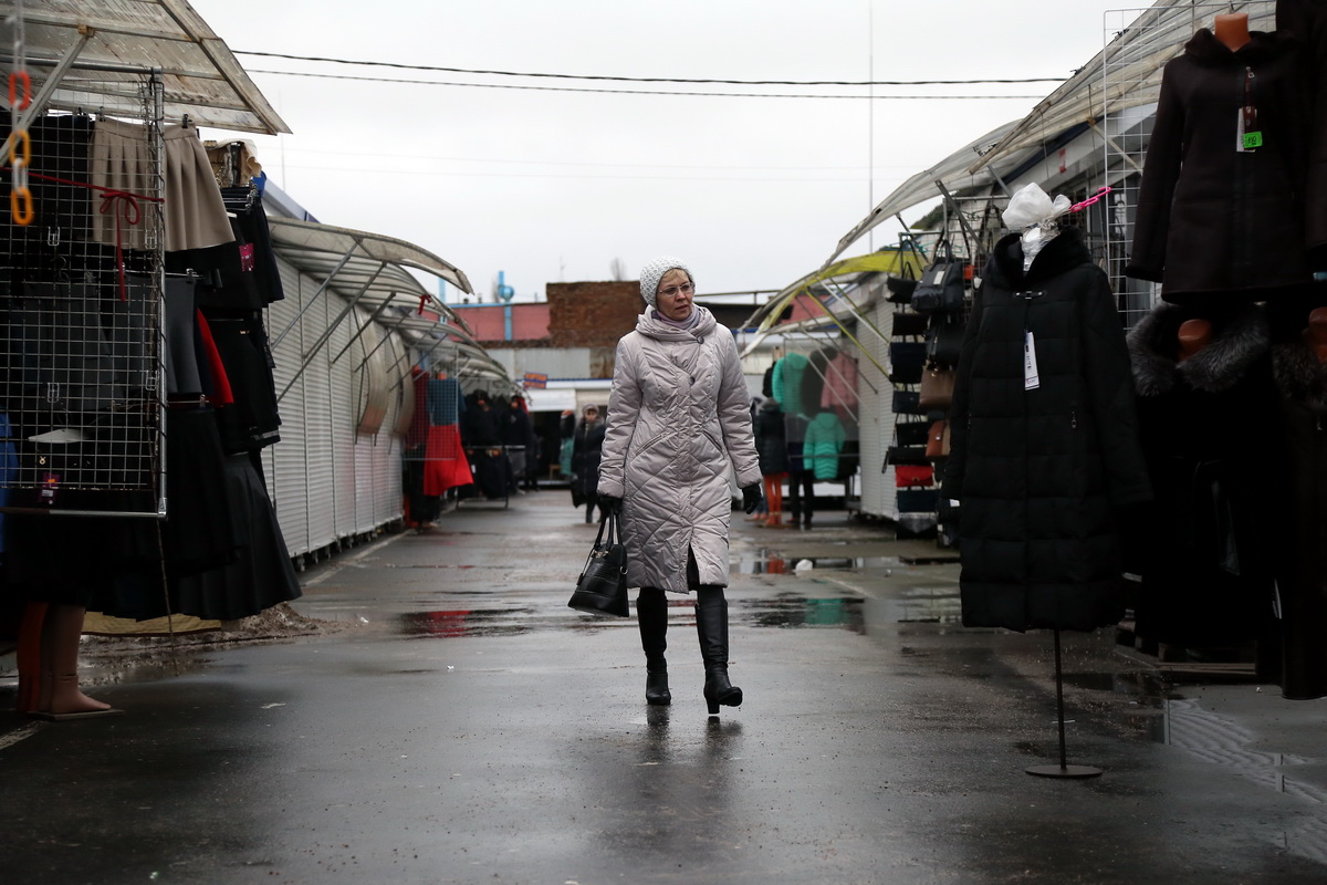 Кооперативный рынок, 9 декабря. Фото: Александр КОРОБ