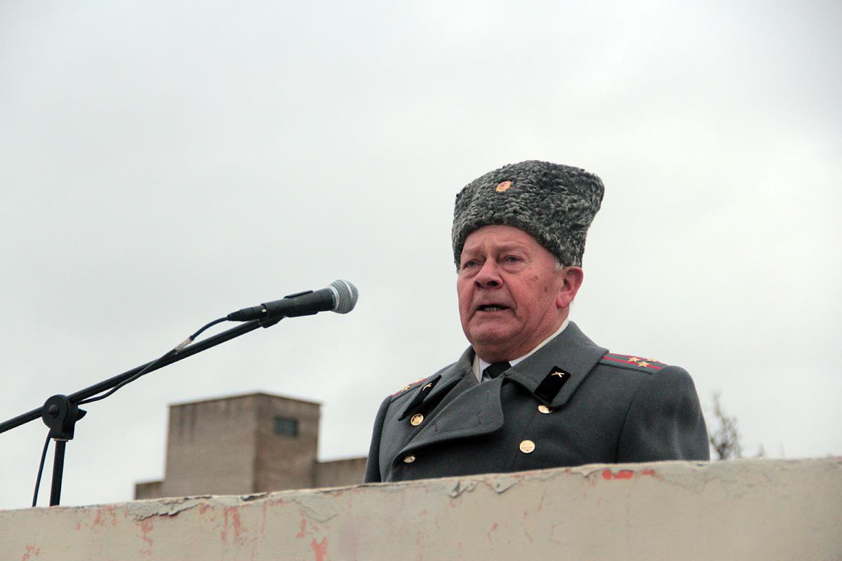 Ветеран вооруженных сил полковник в отставке Александр Манащук. Фото: Юрий ПИВОВАРЧИК