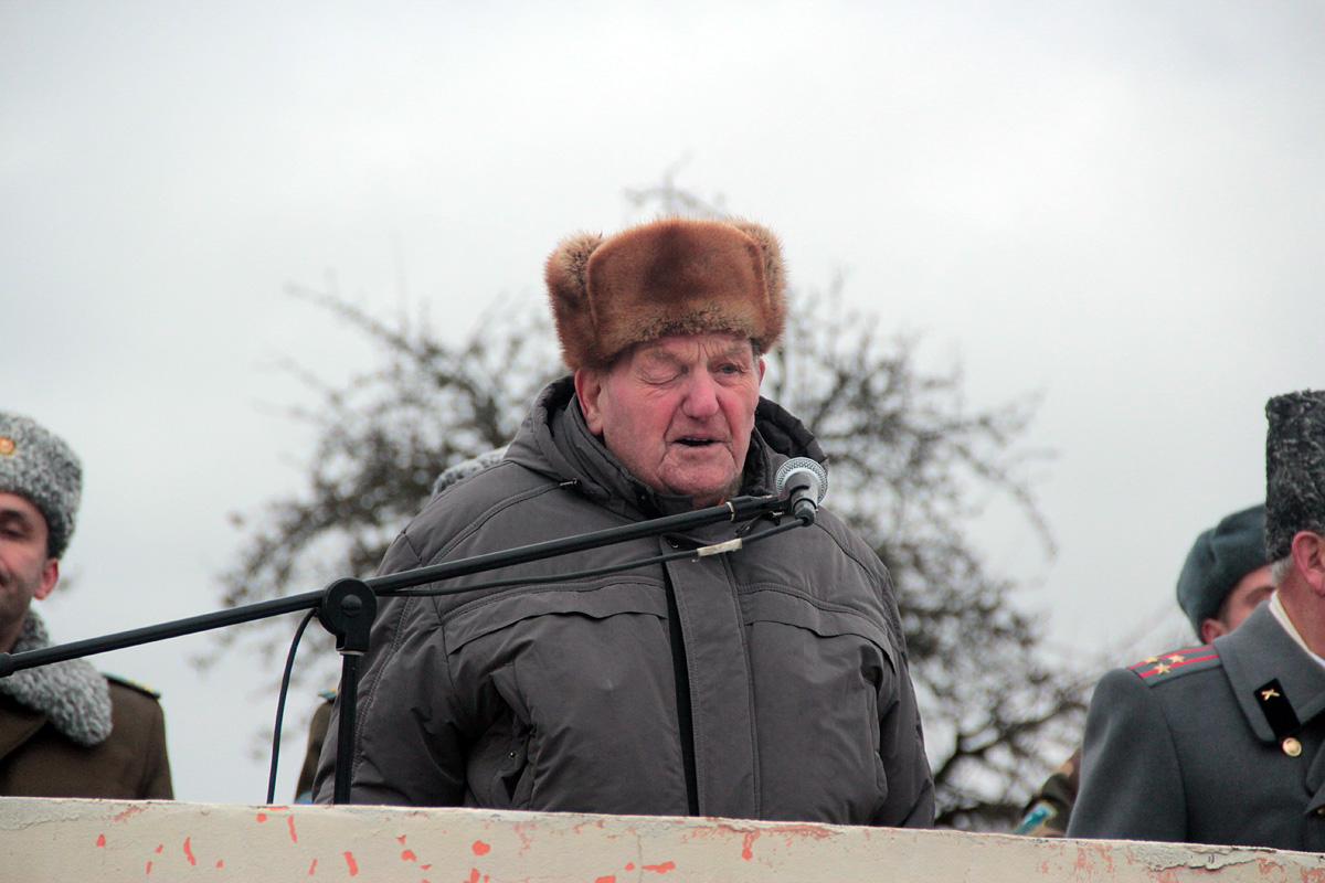 Ветеран Великой Отечественной войны Соловей Велицкий. Фото: Юрий ПИВОВАРЧИК