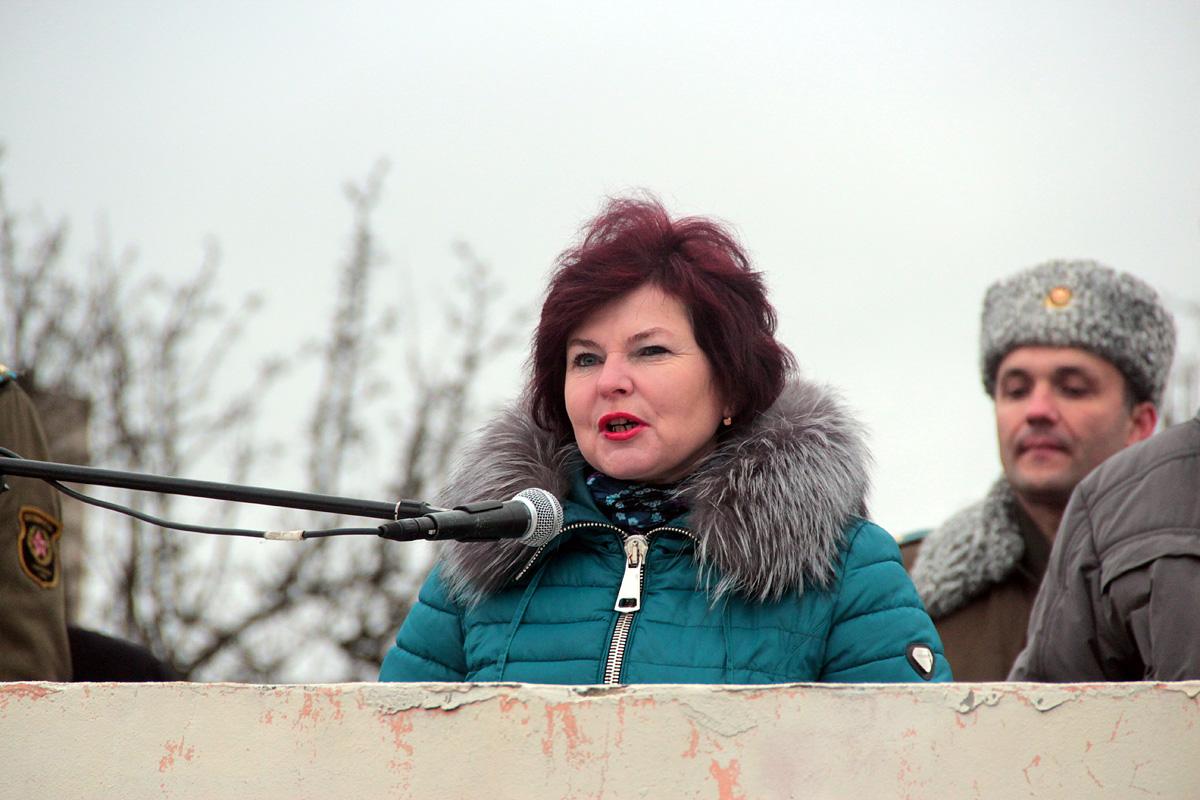 Елена Адерейко, мама военнослужащего. Фото: Юрий ПИВОВАРЧИК