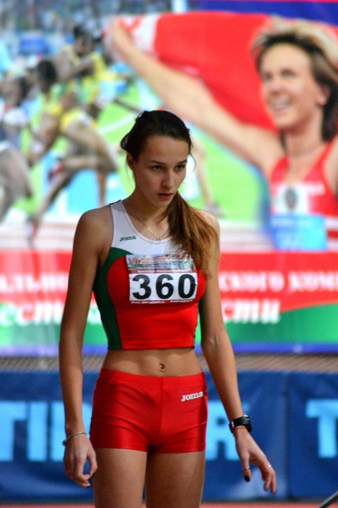 Диана Каролик Фото: Белорусская федерация легкой атлетики