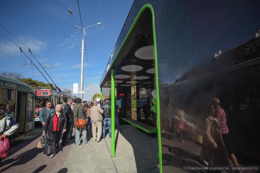 На первой интерактивной остановке в Гомеле появится Wi-Fi зона