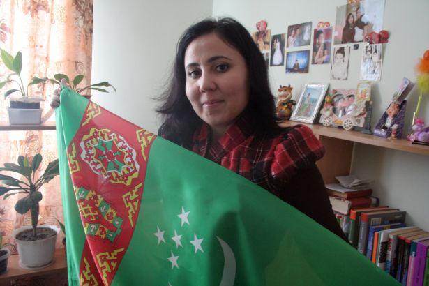 Акнабат Хезреткулиева, г. Ашхабад, Туркменистан
