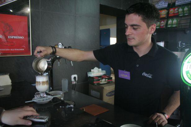 Сергей Бокач, бармен ресторана La pіazza