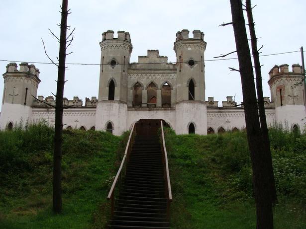 Замак Пуслоўскіх у Косава
