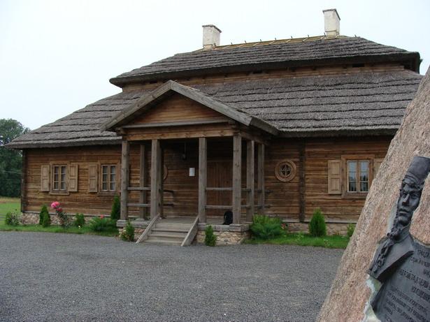 Адноўлены дом Тадэвуша Касцюшкі (Марачоўшчына)
