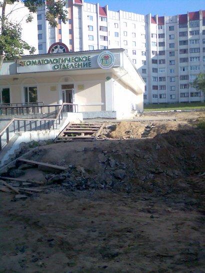 Поликлиника в Северном. Фото автора