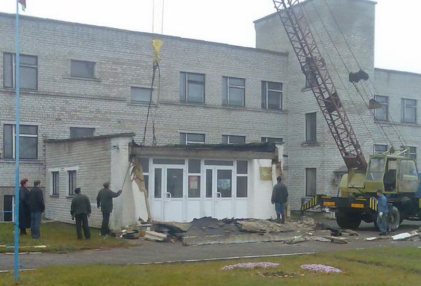 Русиновская средняя школа. 8 ноября 2009 года