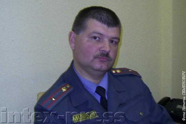 Сергей Лосецкий, участковый с 1997 года