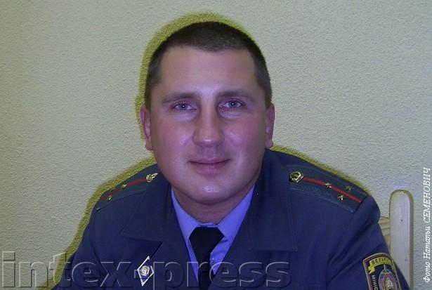 Алексей Таранда, участковый с 2006 года