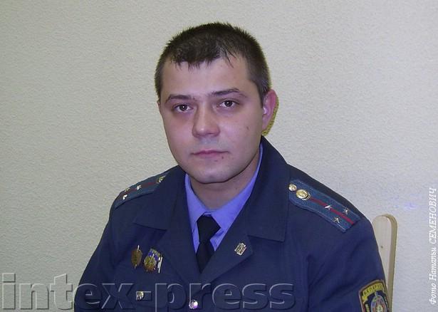 Вадим Галуза, участковый с 2006 года