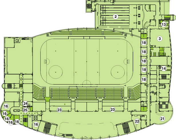 Схема 2-ый этаж