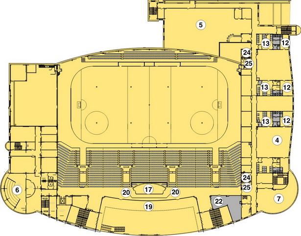 Схема 3-ый этаж