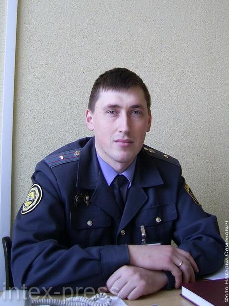 Андрей Блохин, начальник МРЭО ГАИ Барановичского ГОВД