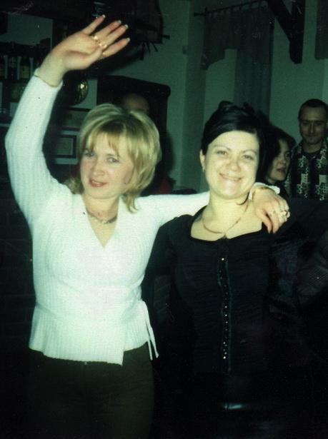 Людмила Лукьянович (слева) с подругой Ириной Сенько