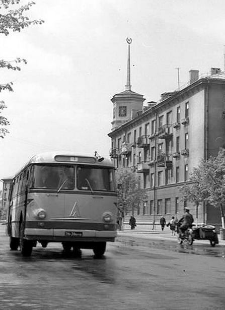 1970год. ЛАЗ-695Е оставался в Барановичах основным городским автобусом  до середины 70-х