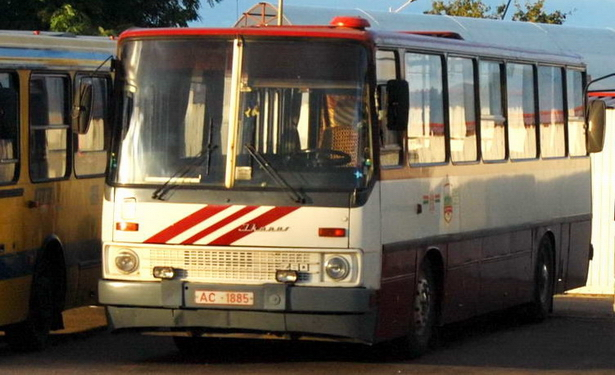 1985 год. Один из серии «коротких» Икарусов-260 не пошел на металлалом, а сохранен для истории
