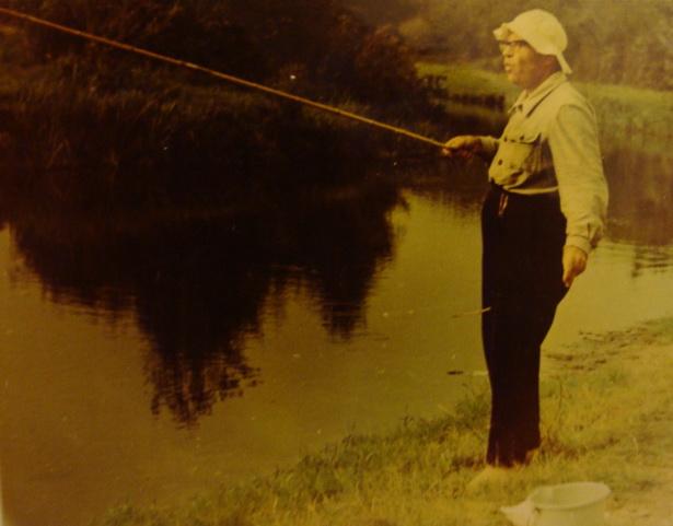 Рыбалка - адно з найвялікшых захапленняў Усевалада Караля