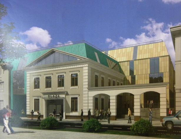 Так будет выглядеть после реконструкции ярмарочная площадь «Пятачок» (вид с ул. Советской)