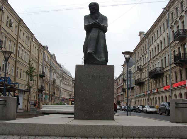 Помнік Фёдару Дастаеўскаму