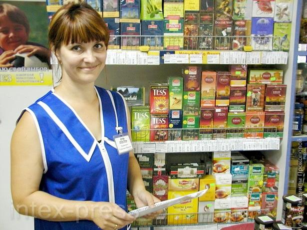 Светлана Лавринович, заведующая магазином