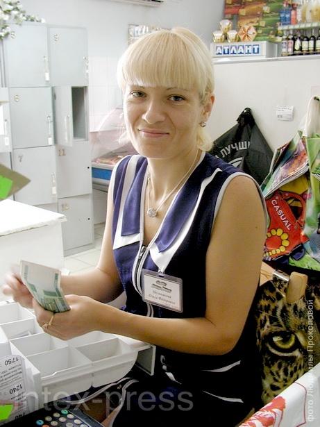 Ольга Мельникова, старший продавец