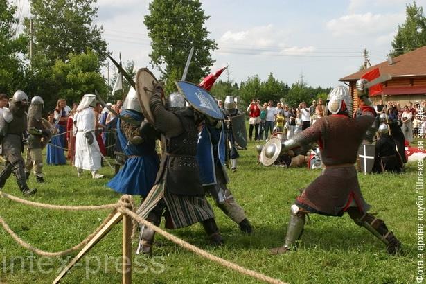 Удзел у рыцарскіх турнірах і баях – самы яркі момант клубнага жыцця