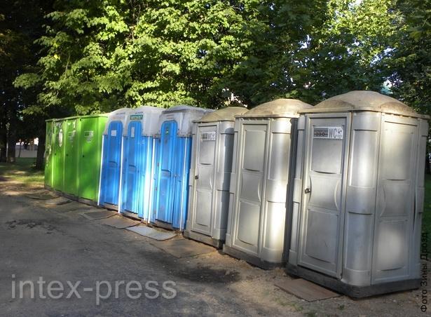 Туалет в парке