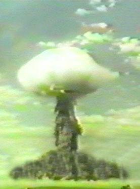 Атомный взрыв на Тоцком полигоне