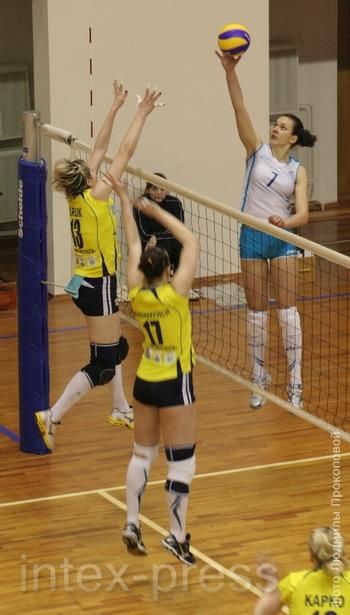 Этот спортивный сезон обещает быть самым успешным в карьере Анны Вашкевич (№ 7)
